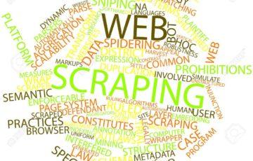 16602923 関連するタグと用語の web スクレイピングの抽象的な単語雲 360x230 - 【初心者のためのPython入門】Webスクレイピング〜Webページから任意のデータを抽出する〜
